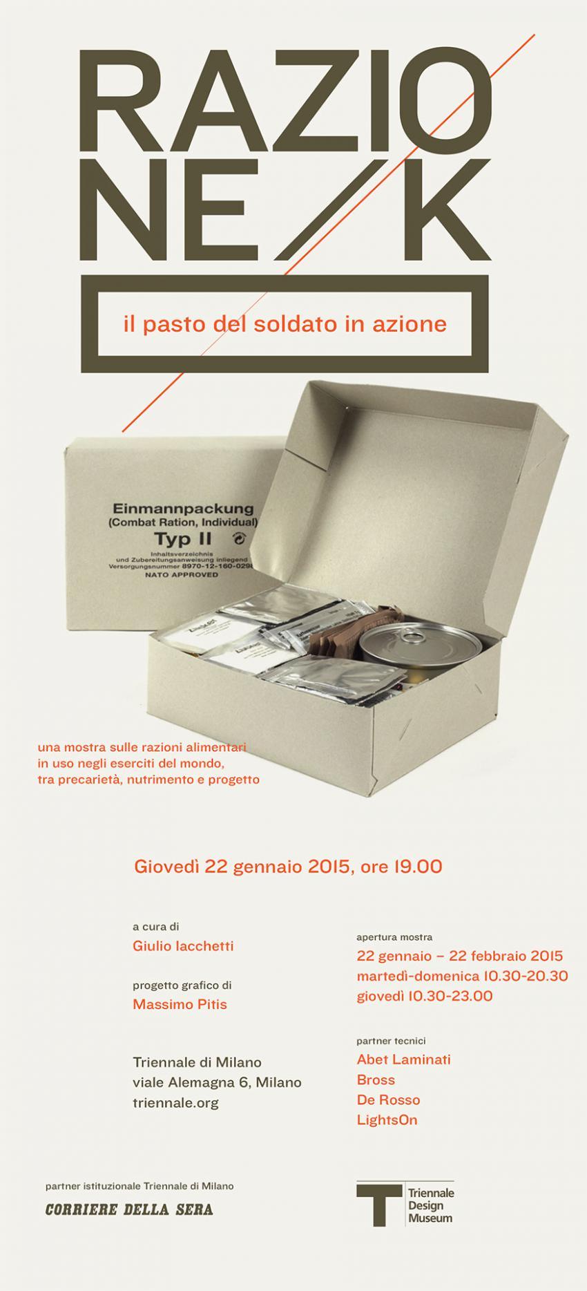 RAZIONE/K di Giulio Iachetti e Silvia Annicchiarico