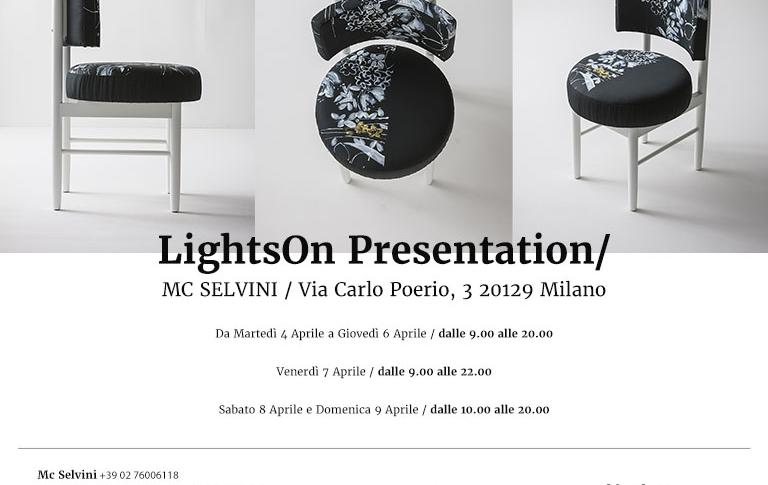 Lightson presentation c/o MC Selvini