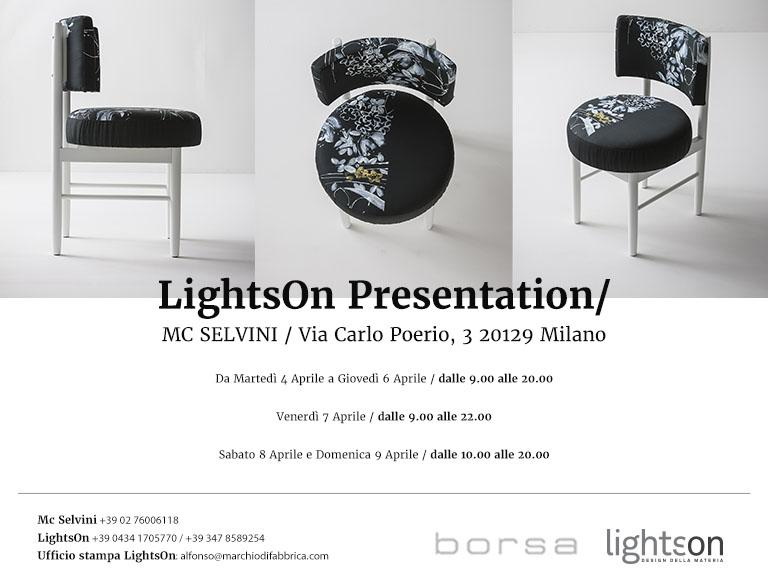 Lightson presentation c/o MC Selvini